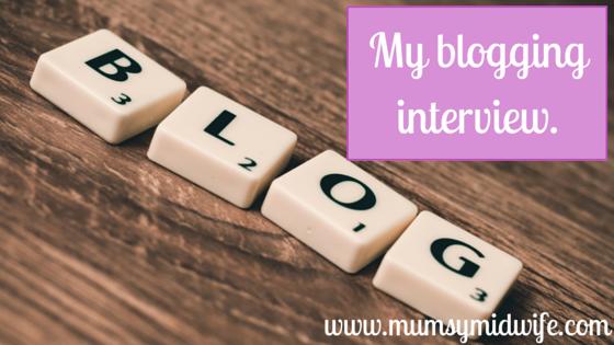 blogging interview