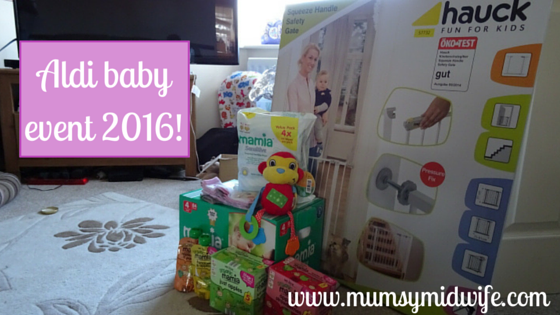 Aldi baby event 2016.