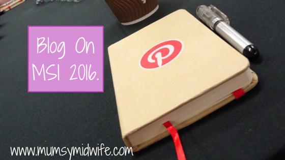 Blog On MSI 2016