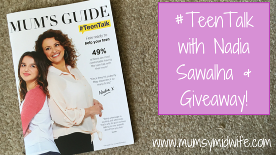 #TeenTalk with Nadia Sawalha