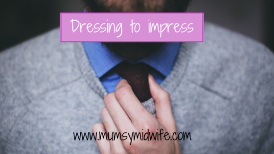 Dressing to impress!