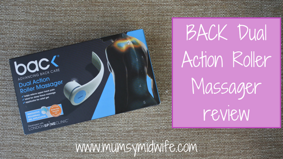BACK Dual Action Roller Massager review
