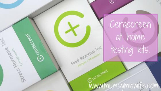 Cerascreen home testing kits