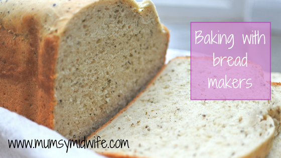 Baking with bread makers