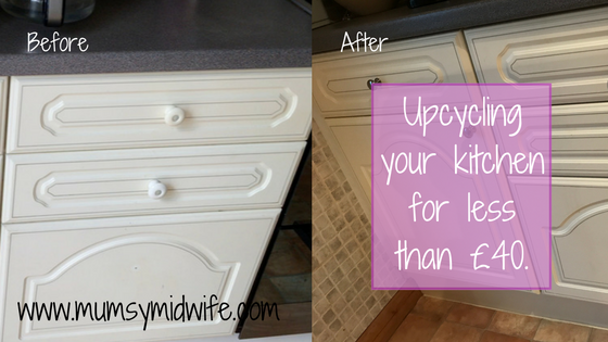 Upcycling your kitchen for less than £40.