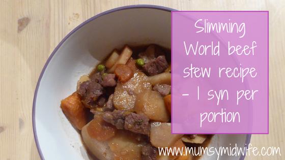 Slimming World beef stew recipe