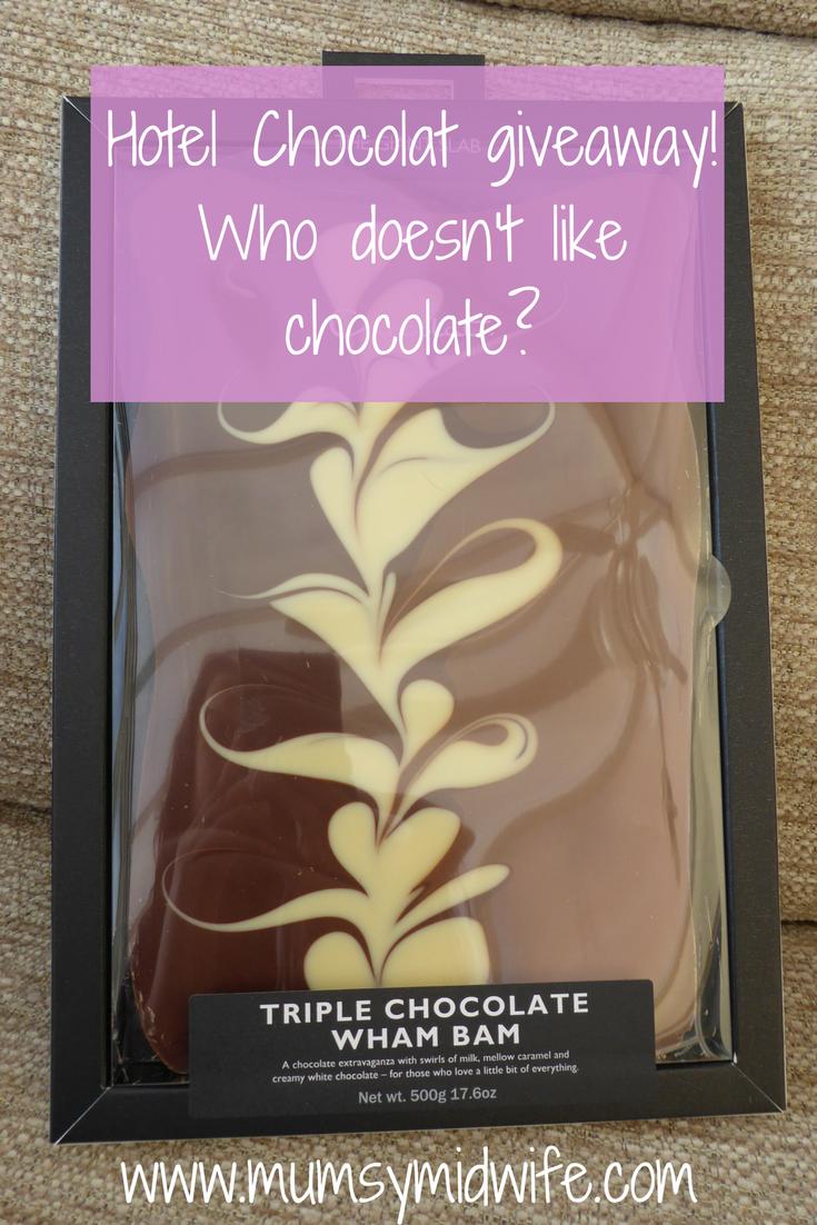 Hotel Chocolat Giveaway, Hotel Chocolat competiton, Chocoholic, Chocolate prize, UK only.