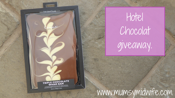 Just a little thank you! Hotel Chocolat giveaway