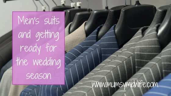 Men's suits and getting ready for the wedding season.