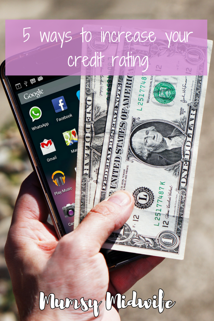 5 ways to improve your credit rating, When you need money you want to get a good loan. You need a good credit history. Boost your loan applications.