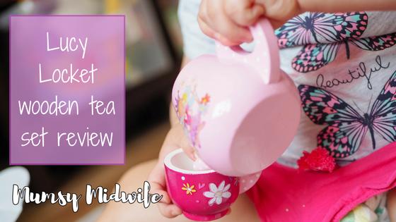 Lucy Locket wooden tea set review