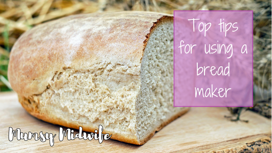 Top tips for using a bread maker