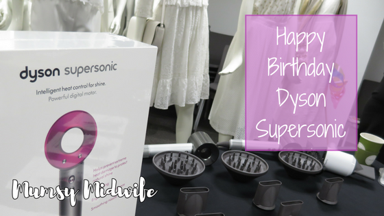 Happy Birthday Dyson Supersonic!