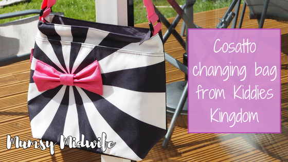 Cosatto changing bag from Kiddies Kingdom