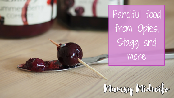 Fanciful food with Opies, Stag and more