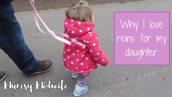 Why I love reins for my daughter