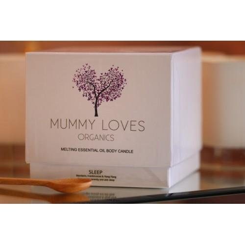 womens gift guide, sleep candle by Mummy Loves
