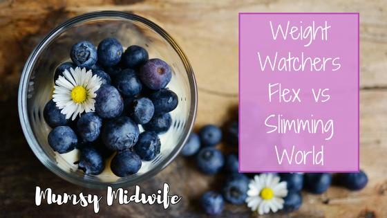 Weight Watchers Flex or Slimming World, Weight Watchers Flex vs Slimming World, Weight Watchers vs Slimming World, www.mumsymidwife.com