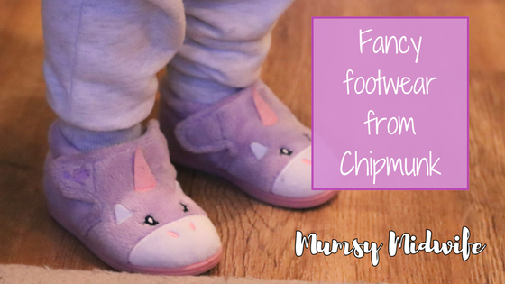 Fancy footwear from Chipmunk