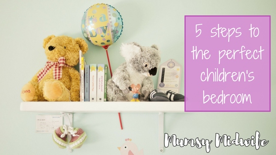 5 steps to the perfect children's bedroom