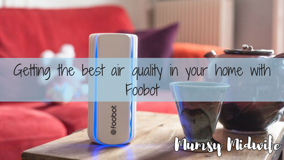 Getting the best air quality in your home with Foobot